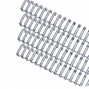 Kit wire-o 3x1 Preto 1/4 - 5/16 - 7/16 - 9/16 (25 cada)100un
