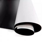 Manta Magnética Adesivado 01 metro x 0,62cm 0,8mm Marpax