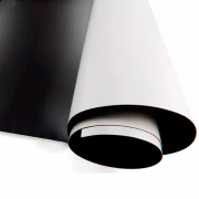 Manta Magnética Adesivado 10 metro x 0,62cm 0,4mm Marpax