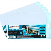 Papel Fotográfico Adesivo Fosco Matte 130g A4 Marpax 300Fls
