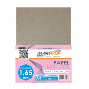 Papel Holler para cartonagem Marpax 1,65mm A4 210x297mm 50un