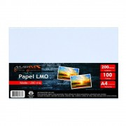 Papel LMO Matte 200 mic 210x297MM Marpax 100fls