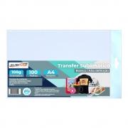 Papel para sublimação transfer A4 210X297mm 100G Marpax 100FLS