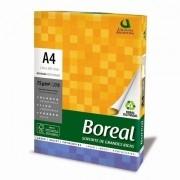 Papel Sulfite A4 75g/m² impressão Boreal Branco 500fls