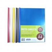 Pasta Canaleta A4 220x307mm Sortidos Plastpark 05un