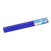 Plástico Adesivo Azul Brilho 80mic 45cmx10 metros BRW
