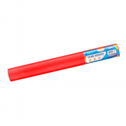 Plástico Adesivo Vermelho Brilho 80mic 45cmx10 metros BRW