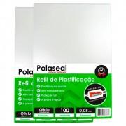 Polaseal Ofício 2 para Plastificação 222x336x0,05mm 200un