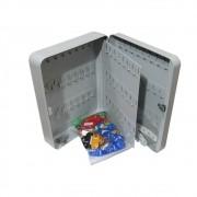 Porta Chave Claviculário Menno TS90 em aço para 90 chaves