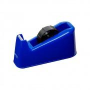 Suporte para Fita Adesiva Grande de Mesa Azul BRW 01un