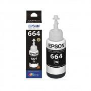 Tinta de Impressora Ecotank Epson Original Refil Black 70 ML
