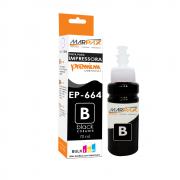 Tinta de impressora Epson 664 compatível Premium Black 70ml