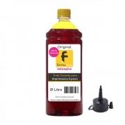 Tinta para impressora Epson compatível Yellow Formulabs 1L