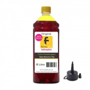 Tinta para impressora HP compatível Yellow Formulabs 1L
