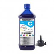 Tinta Sublimática Epson Compatível Cyan Marpax 01 Litro