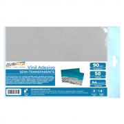 Vinil Adesivo A4 90g Semitransparente Brilho Marpax 50fls