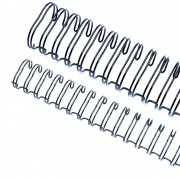 Wire-o para Encadernação 3x1 A4 Preto 1/4 para 25 fls 100un