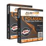 Kit 200un Polaseal A4 0,05mm Plástico para Plastificação