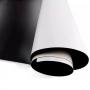 Manta Magnética Adesivado 01 metro x 0,62cm 0,4mm Marpax