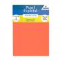 Papel Color Plus Laranja A4 210x297mm 180g Romitec 25Fls