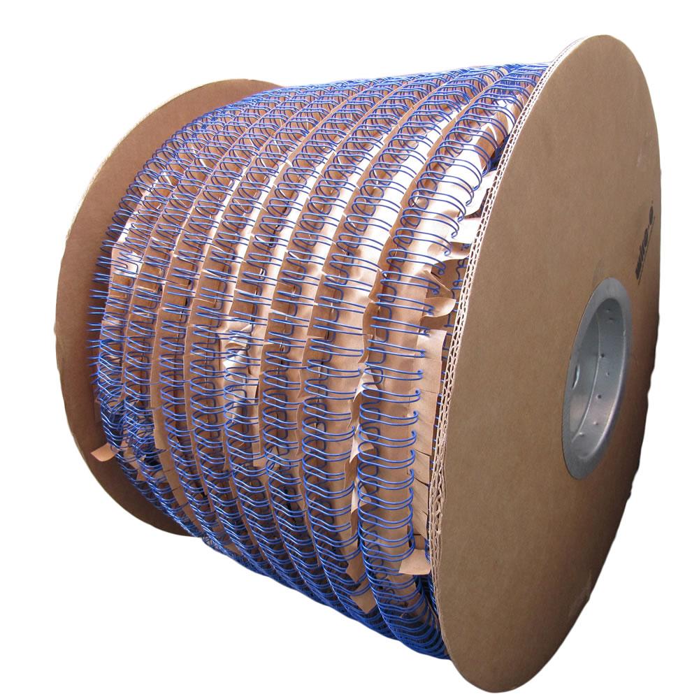 Bobina Wire-o 3x1 Azul 3/8 para 60fls 45.000 anéis Marpax
