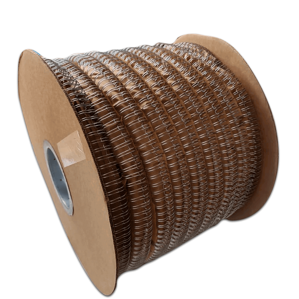 Bobina Wire-o 3x1 Prata 7/16 para 85fls 34.500 anéis
