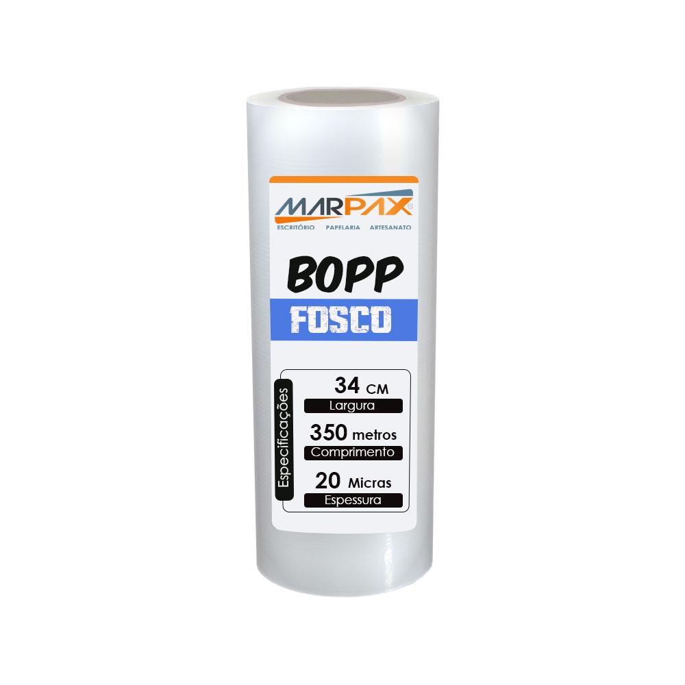 BOPP Fosco para laminação Bobina A3+ 34cmx350m Marpax01un