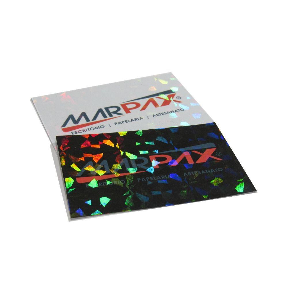 Bopp Holográfico Pedras 3D para Laminação Bobina 33x250m Marpax 01un