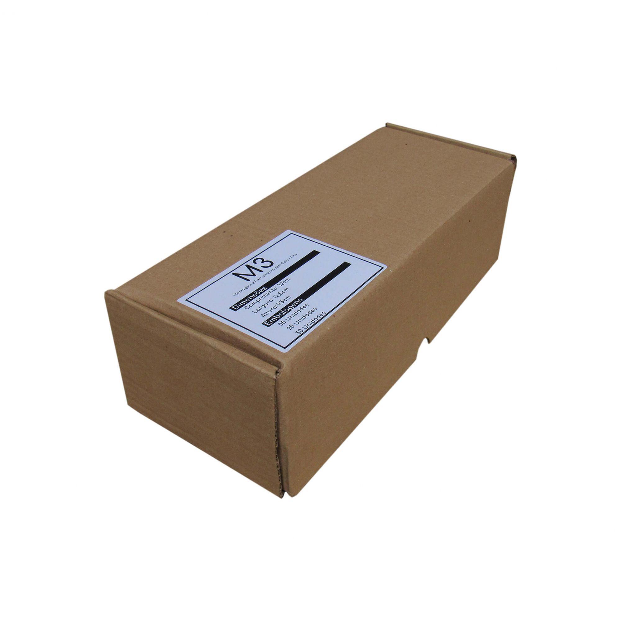 Caixa de Papelão para correios M3 32x13x10cm Marpax 5 un