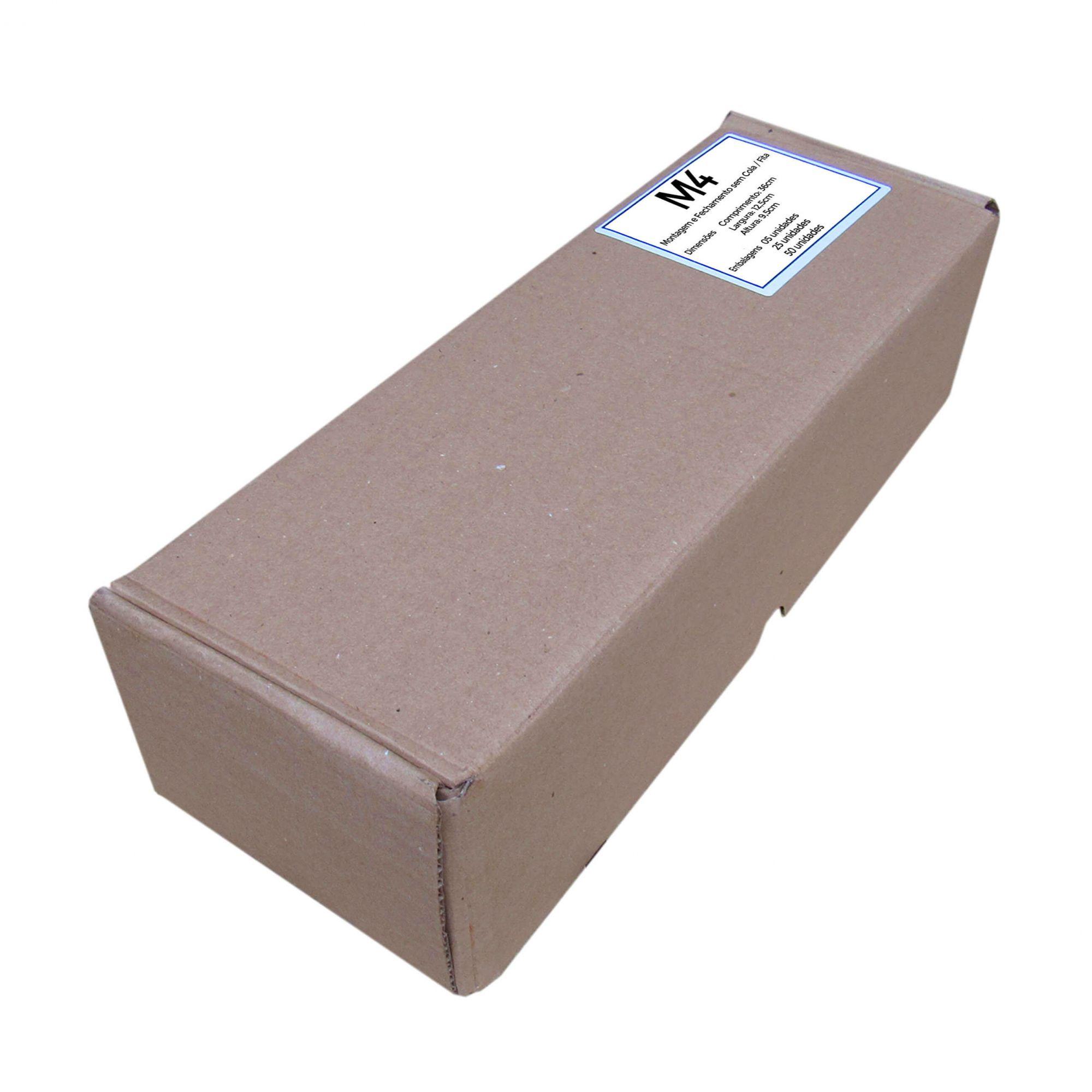 Caixa de Papelão para correios M4 36x13x10cm Marpax 50 un