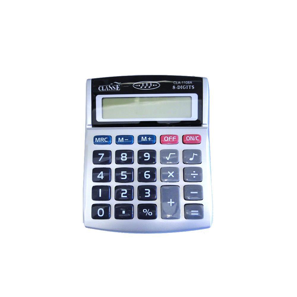 Calculadora de mesa Pequena 8 Dígitos CLA-100 Classe 01un