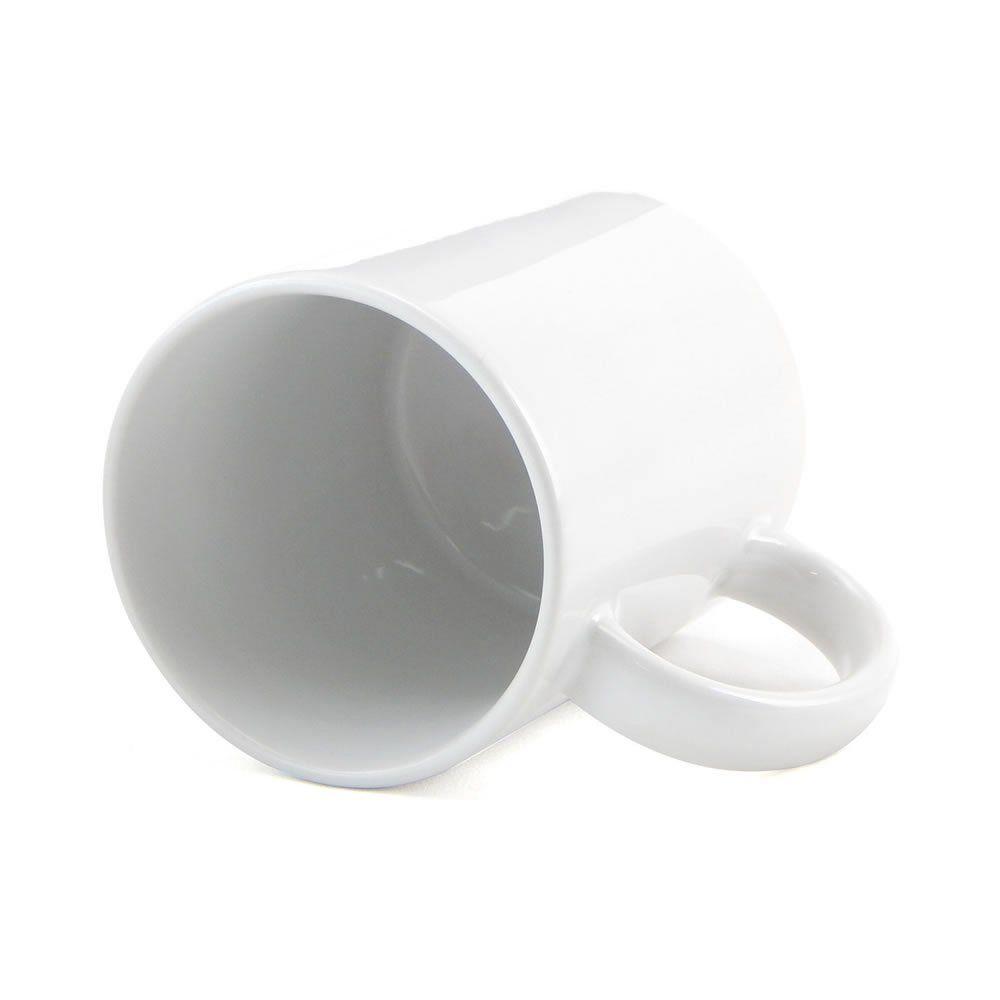 Caneca para sublimação Personalização de Cerâmica Branca 1un