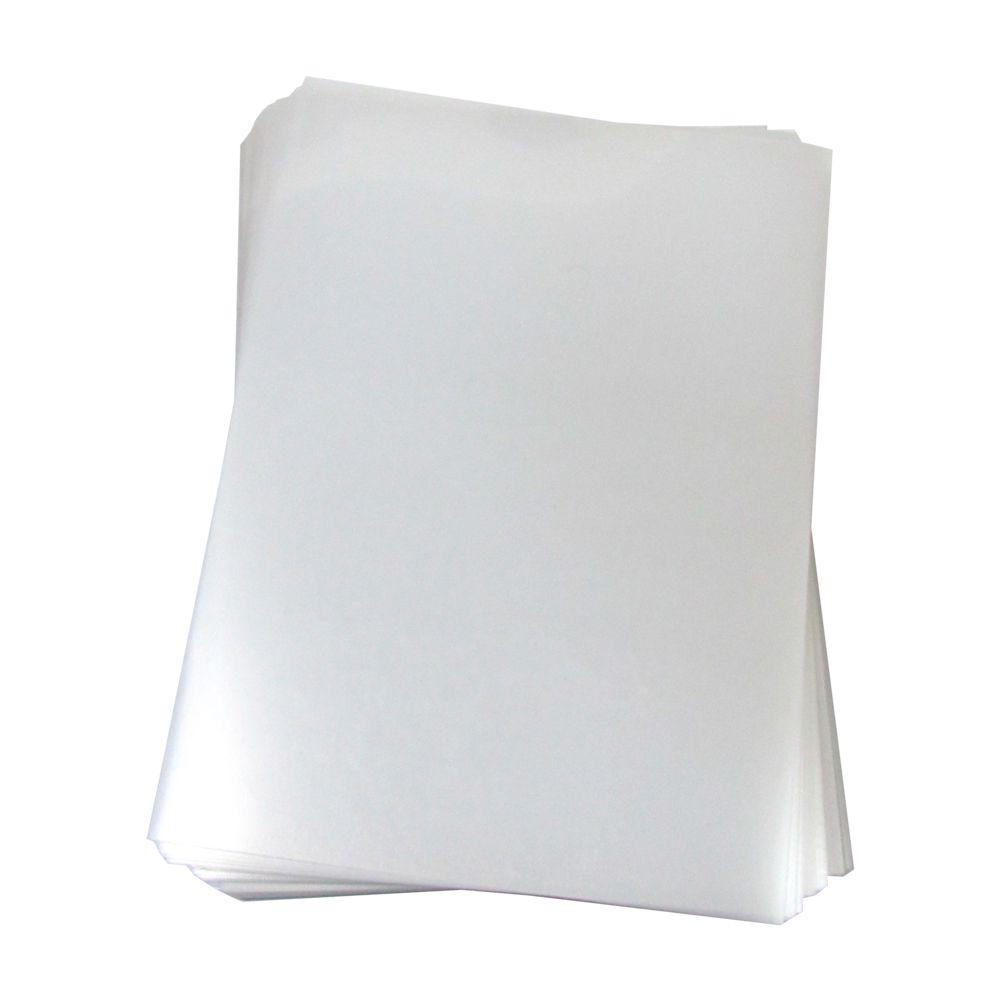 Capa para Encadernação A4 Transparente Lisa PP 0,30 100un