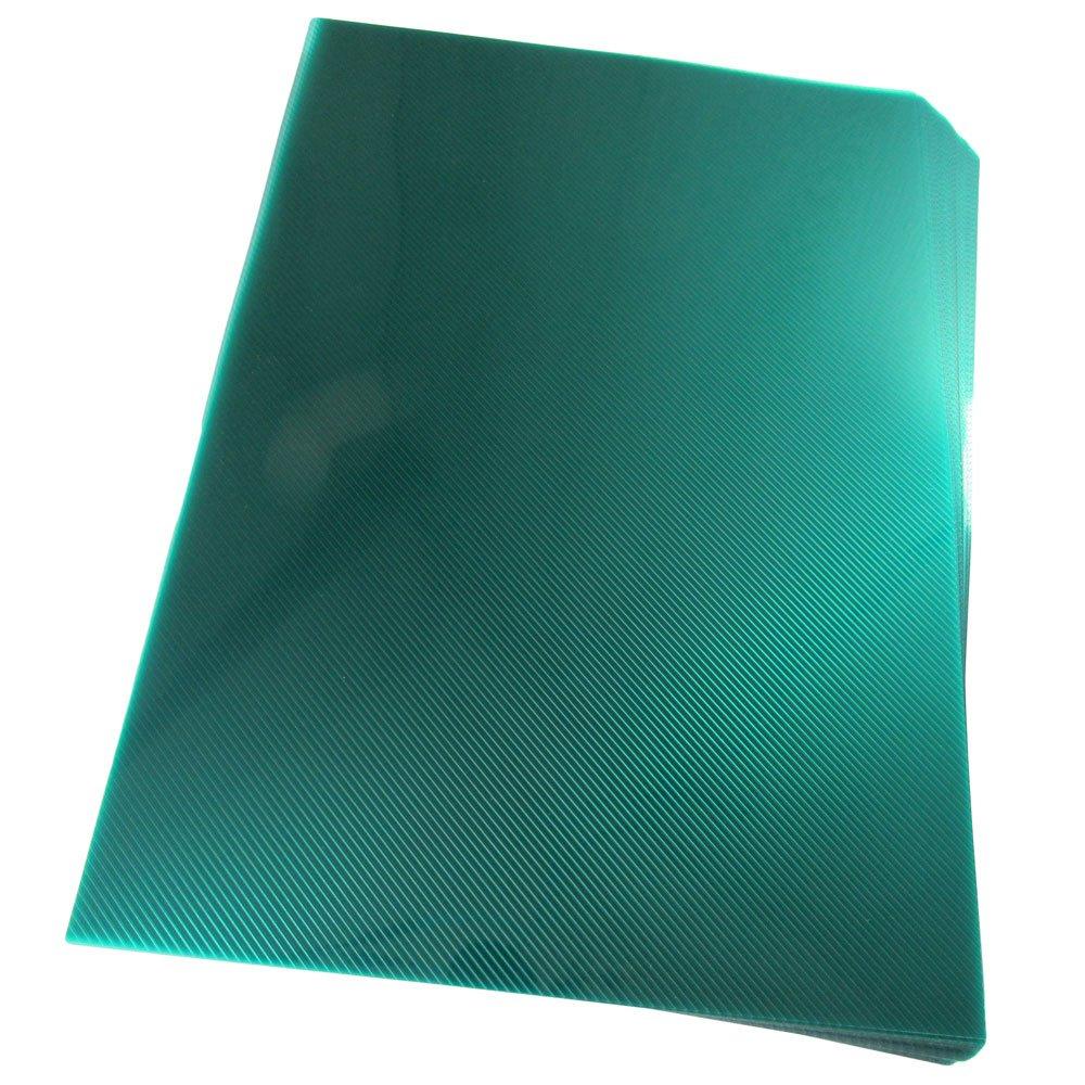 Capa para Encadernação A4 Verde Bandeira Line PP 0,30 50un