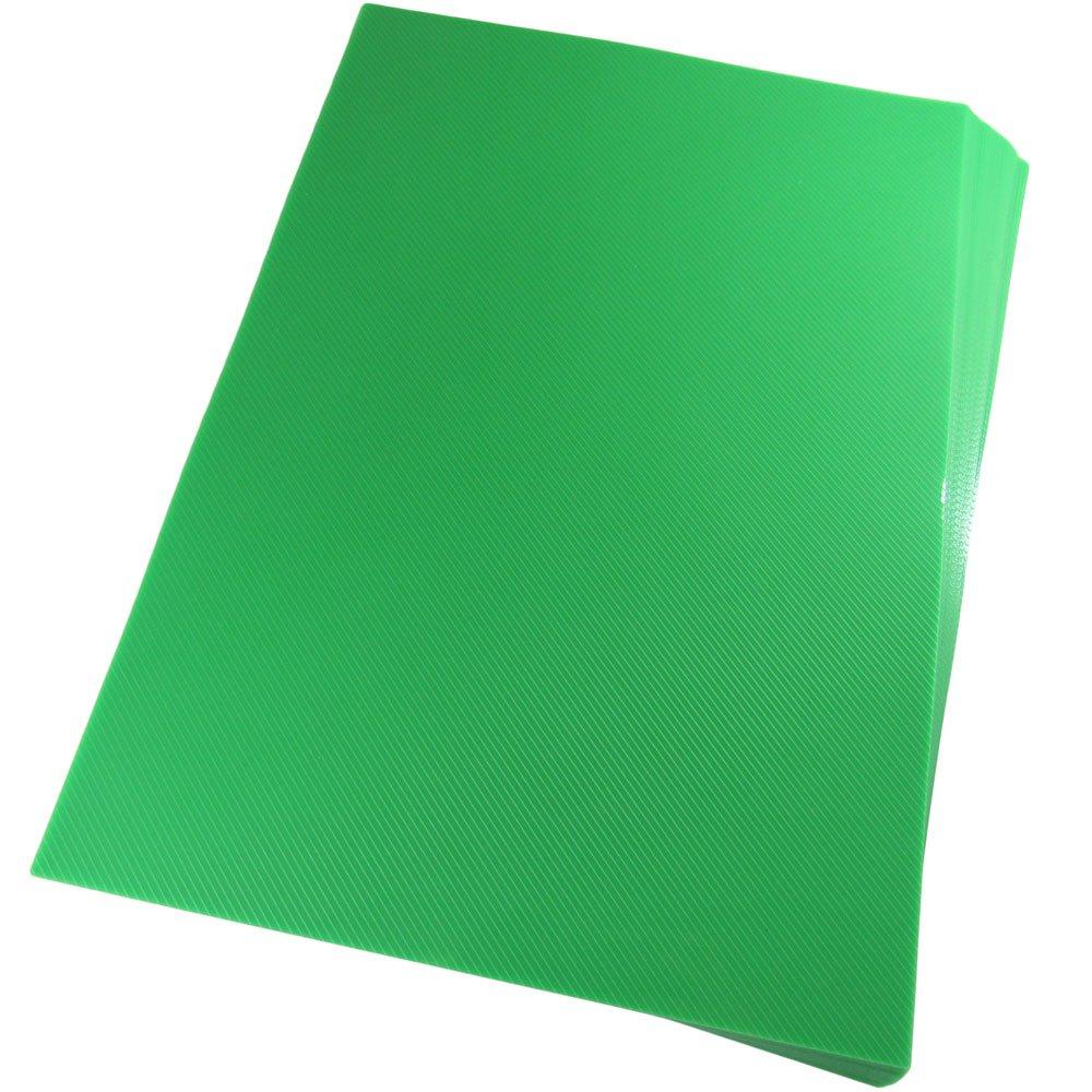 Capa para Encadernação A4 Verde Limão Line PP 0,30 100un