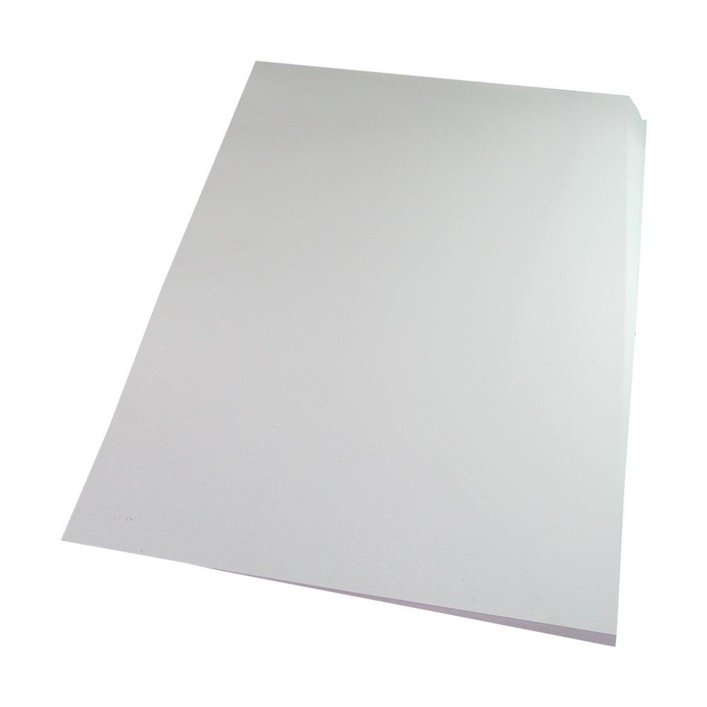 Capa para Encadernação PVC A4 Branco Fundo camurça 100un
