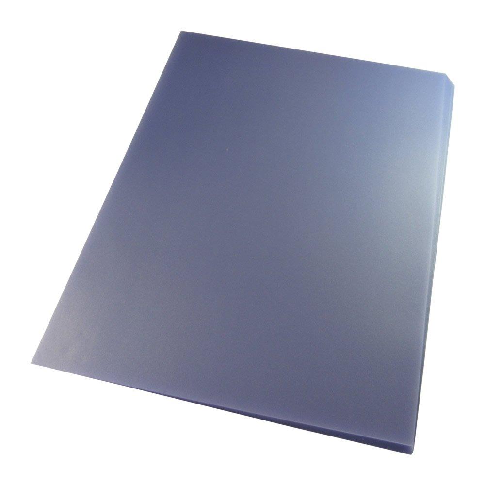 Capa para Encadernação PVC A4 Transparente Camurça 100un