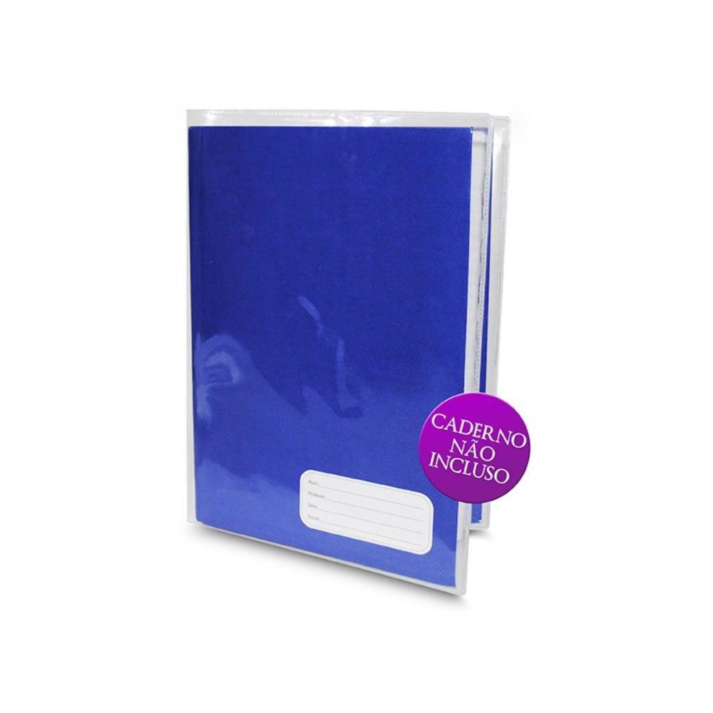 Capa Pronta para Caderno Brochurrão 440x290mm PVC - 05un
