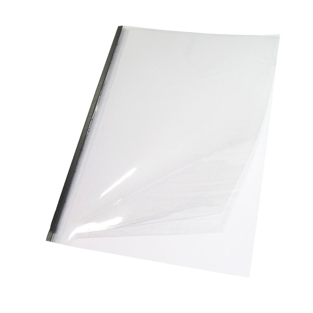 Capa Térmica Steel Crystal Preto A4 12mm 76 à 100 fls 05un