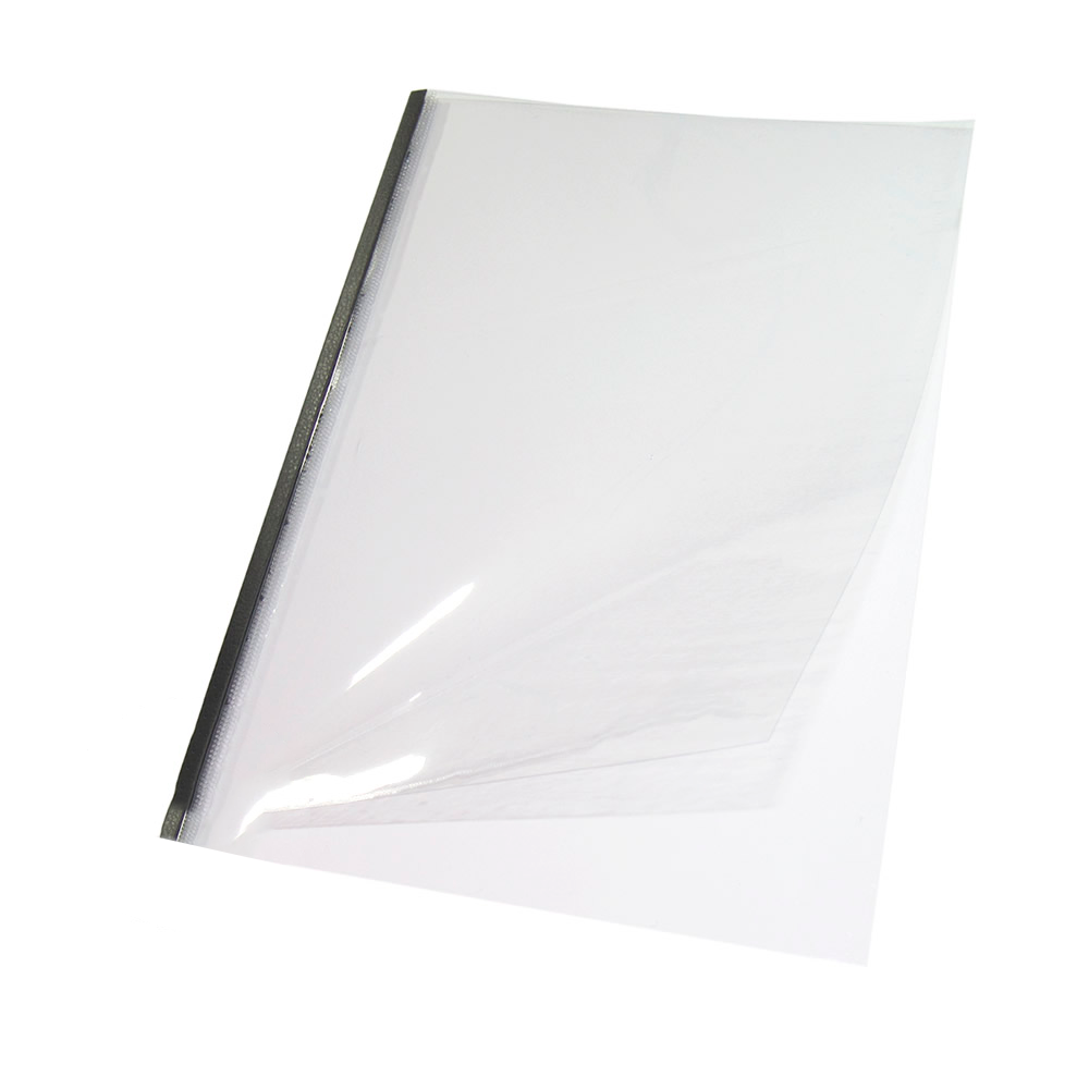 Capa Térmica Steel Crystal Preto A4 36mm 281 à 340 fls 05un