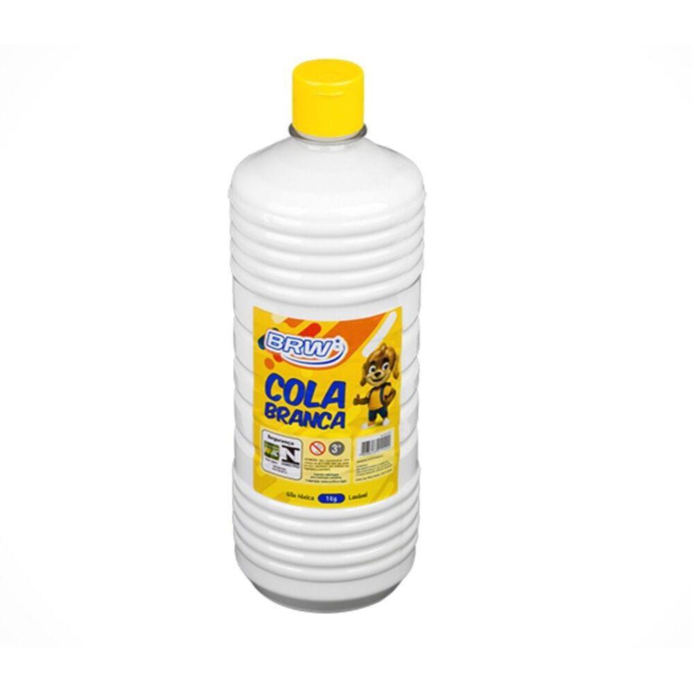 Cola Branca Liquida Escolar 1KG BRW 01un