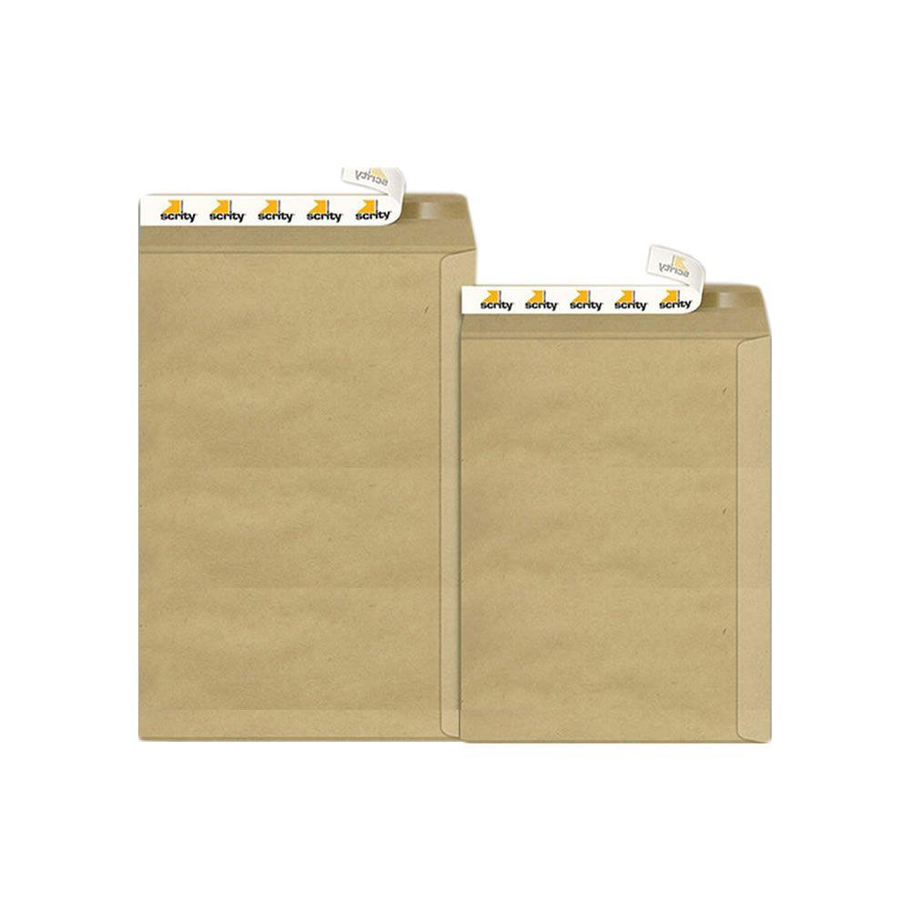 Envelope Adesivo Kraft Pardo SKN625 176x250mm Scrity 100un