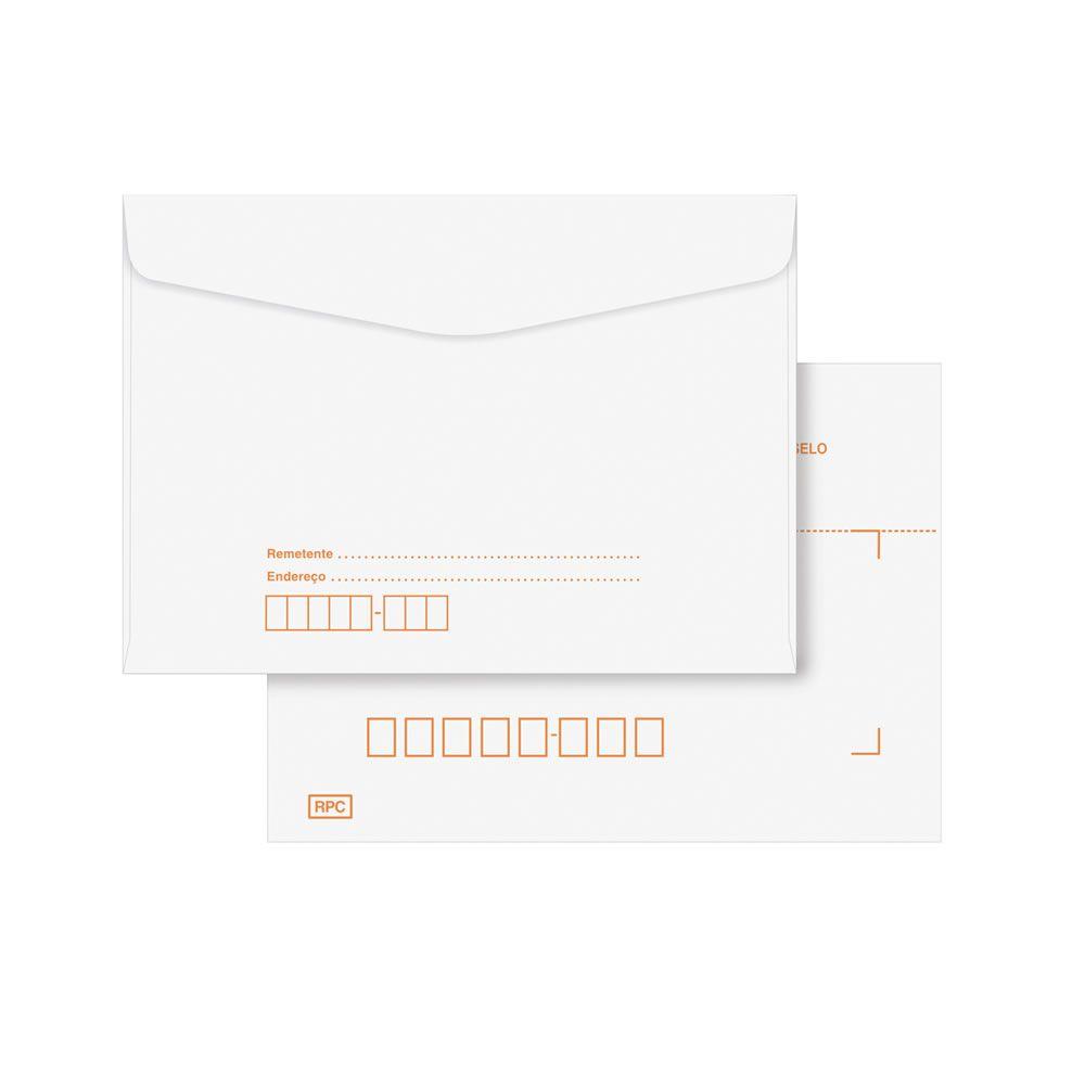 Envelope Carta RPC Branco COF012 114x162mm Scrity 1000un