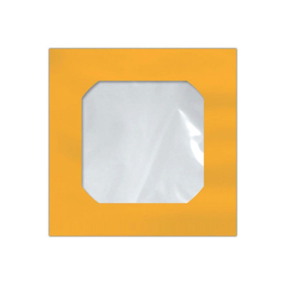 Envelope CD e DVD Amarelo CMD005 125x125mm Scrity 250un