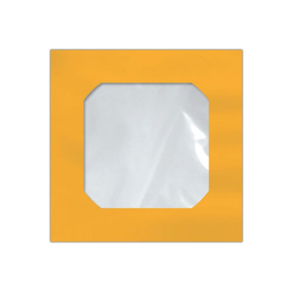 Envelope CD e DVD Amarelo CMD005 125x125mm Scrity 250un
