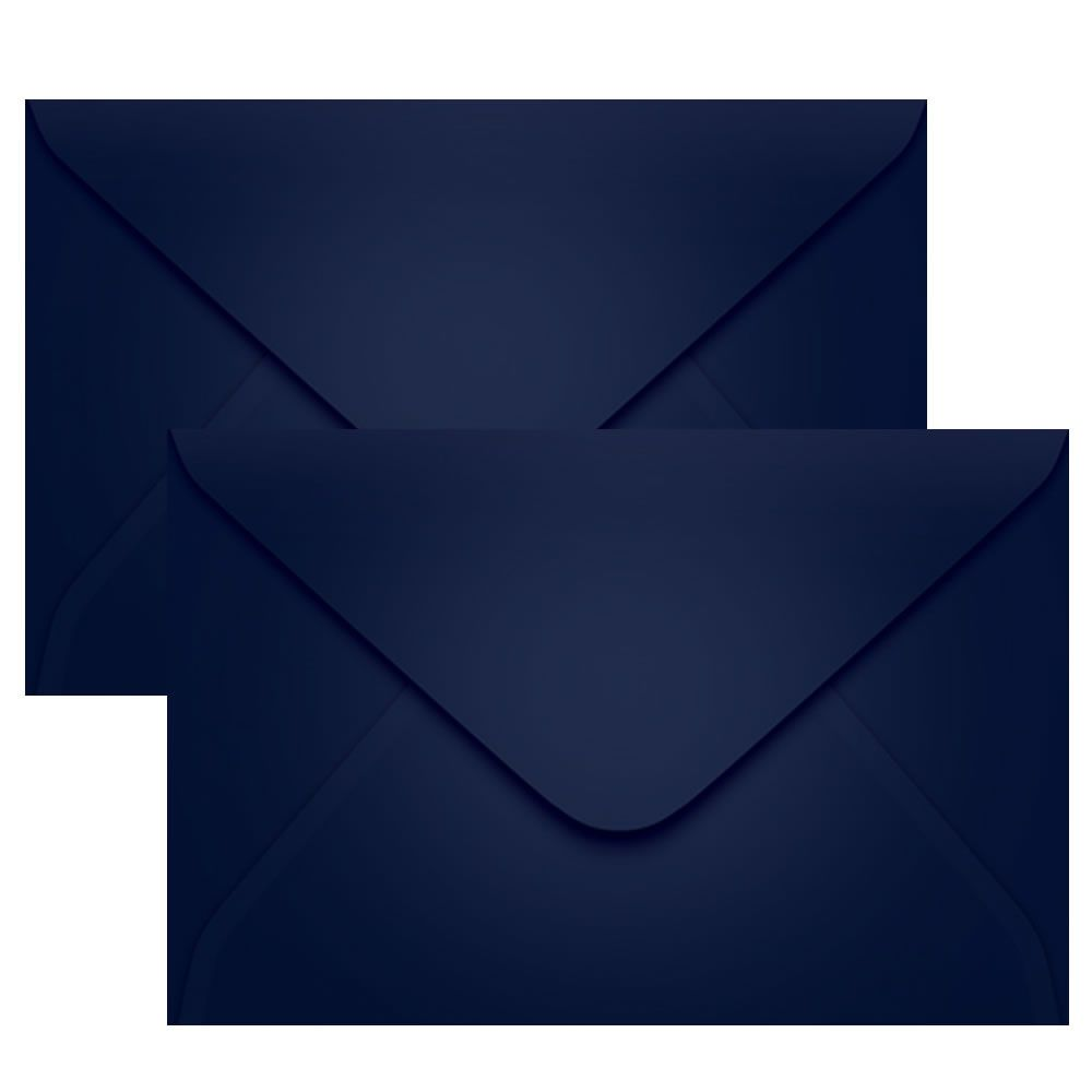 Envelope Convite Azul Escuro P. Seguro 160x235mm Scrity 100un