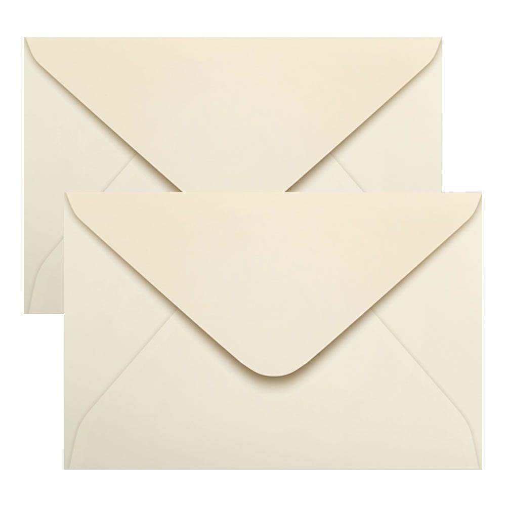 Envelope Convite de Casamento Creme Marfim 160x235mm Scrity 100un