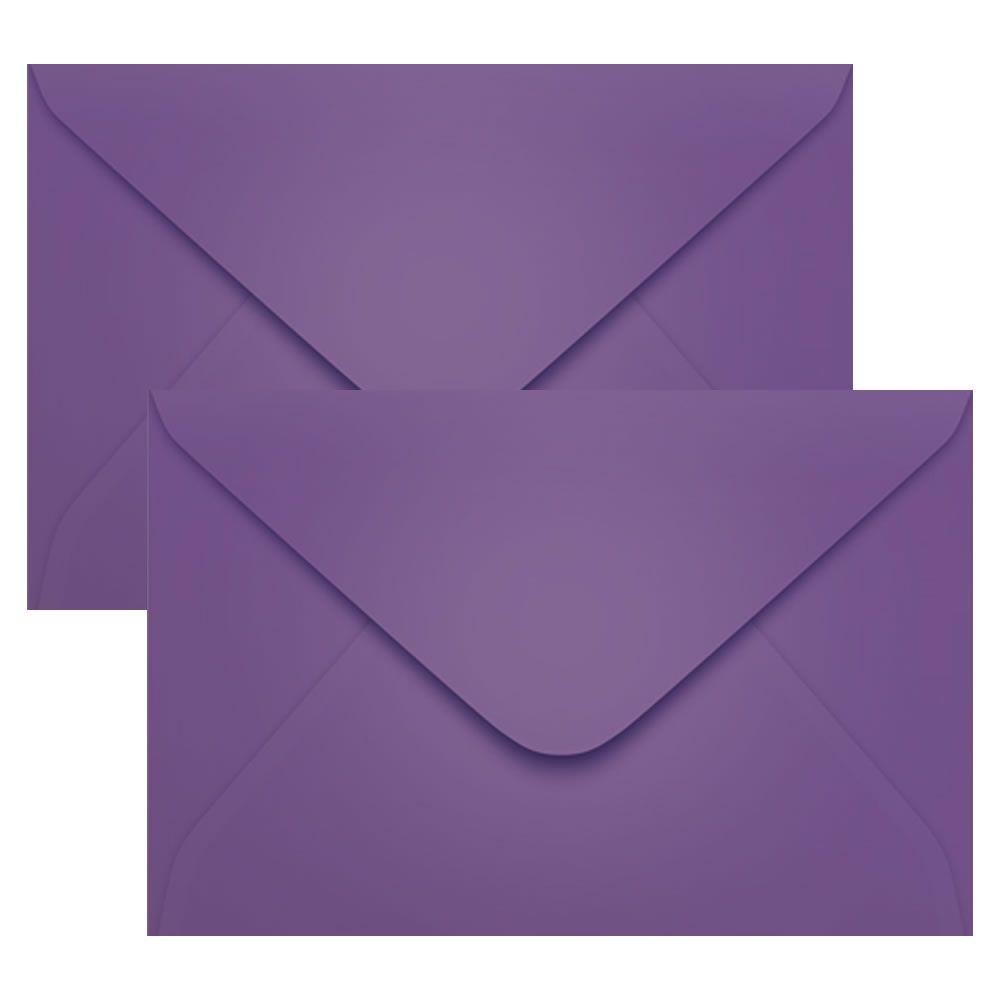 Envelope Convite de Casamento Lilás Amsterdan 160x235mm Scrity 100un