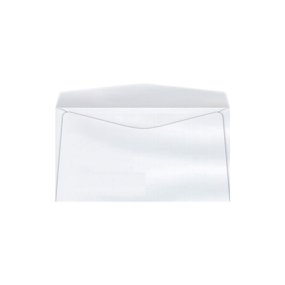 Envelope Convite Liso Branco COF045 114x229mm Scrity 1000un