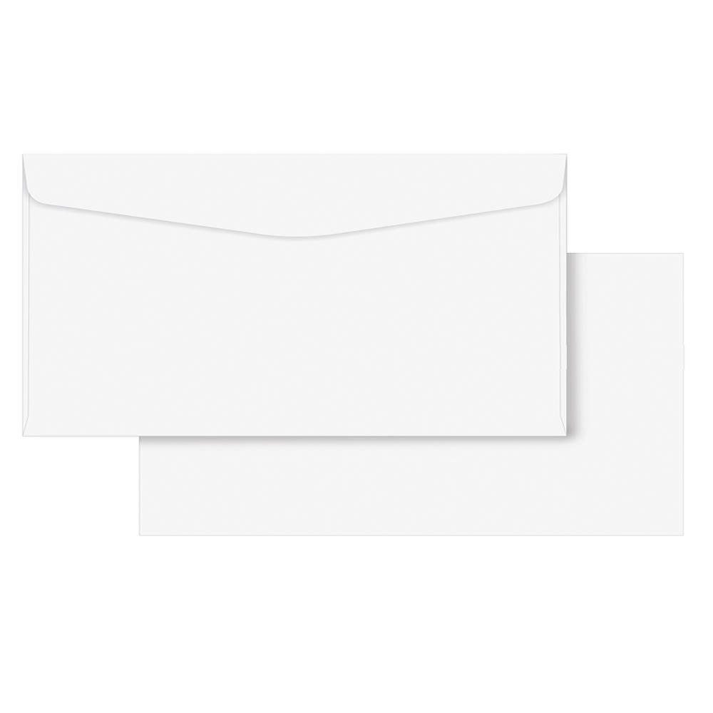 Envelope Ofício Liso Branco COF020 114x229mm Scrity 1000un